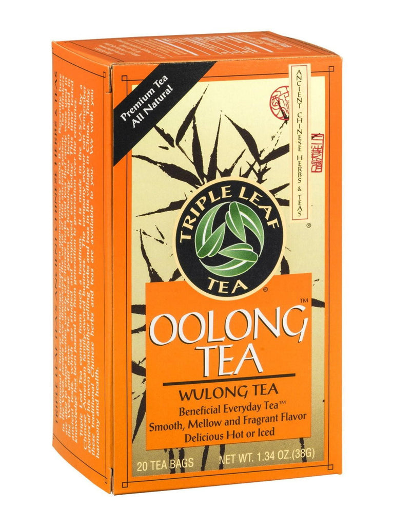 Oolong Tea (Wulong Tea), 20 tea bags, Triple Leaf Tea
