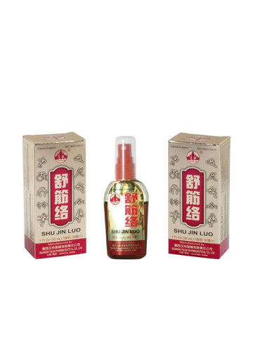 Shu Jin Luo External Analgesic Spray, 1 fl oz, Yulin Brand