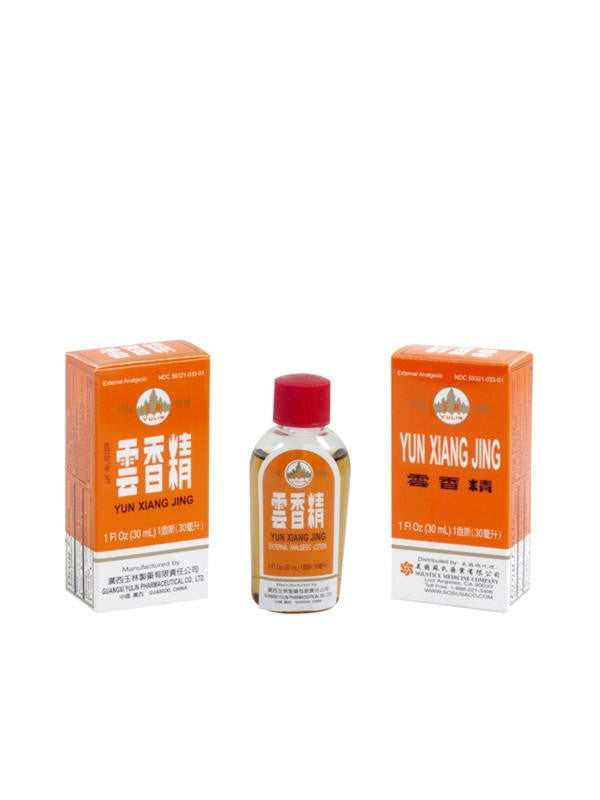 Yun Xiang Jing External Analgesic Lotion, 30 ml, Yulin Brand