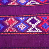 Stunning purple shoulder bag hand woven for Pazeña in Mexico
