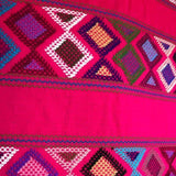 Large womens' wallet with Zapotec Rombo design ethically handmade in Chiapas - pazeña