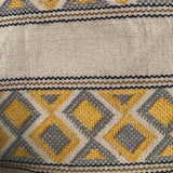 Stunning yellow shoulder bag hand woven for Pazeña in Mexico