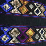 Large womens' wallet with Zapotec Rombo design ethically handmade in Chiapas