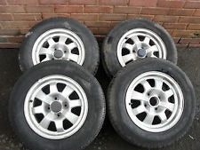 Porsche 924 Wheels Tyres etc