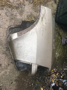 Porsche 944 rear wheel arch tub corner body cut LEFT - Woolies Workshop - Porsche 924 944 spares