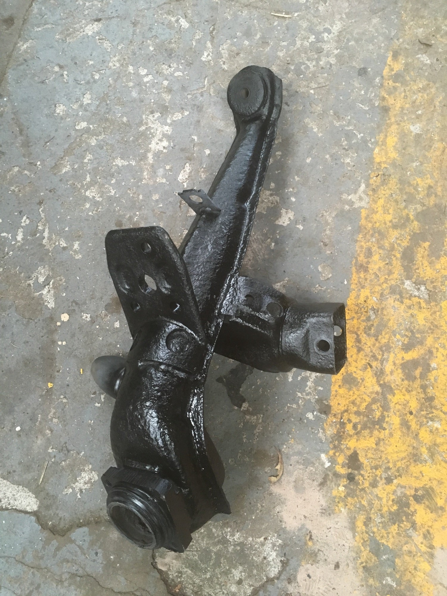 Porsche 924 rear trailing arm 477 501 036D Off side / right (stripped to order) - Woolies Workshop - Porsche 924 944 spares