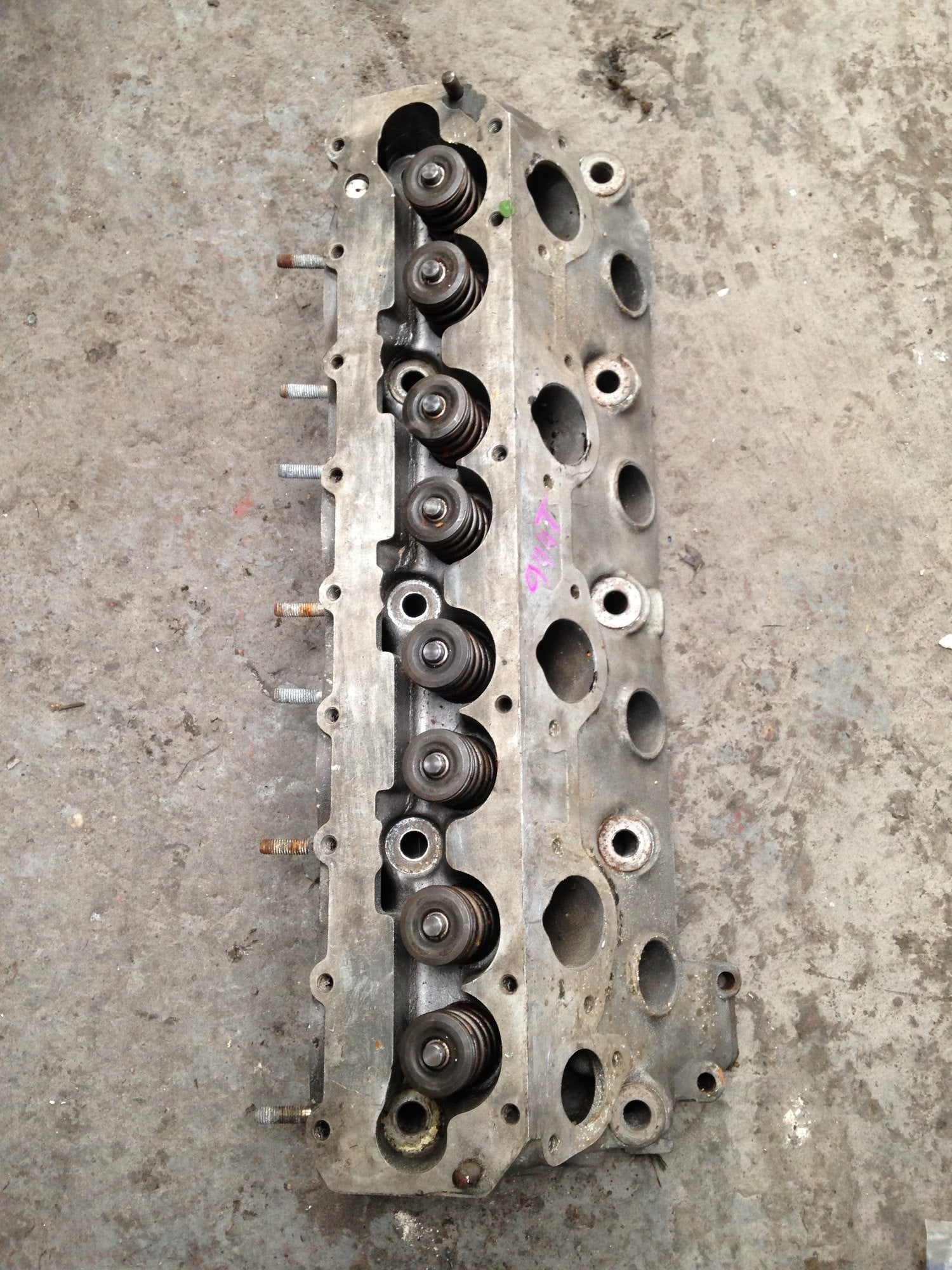 Porsche 944 TURBO cylinder head 951.104.303.1 R - Woolies Workshop - Porsche 924 944 spares
