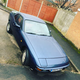 Porsche 924S 2.5 Manual. 1987. Metallic Blue. - Woolies Workshop - Porsche spares