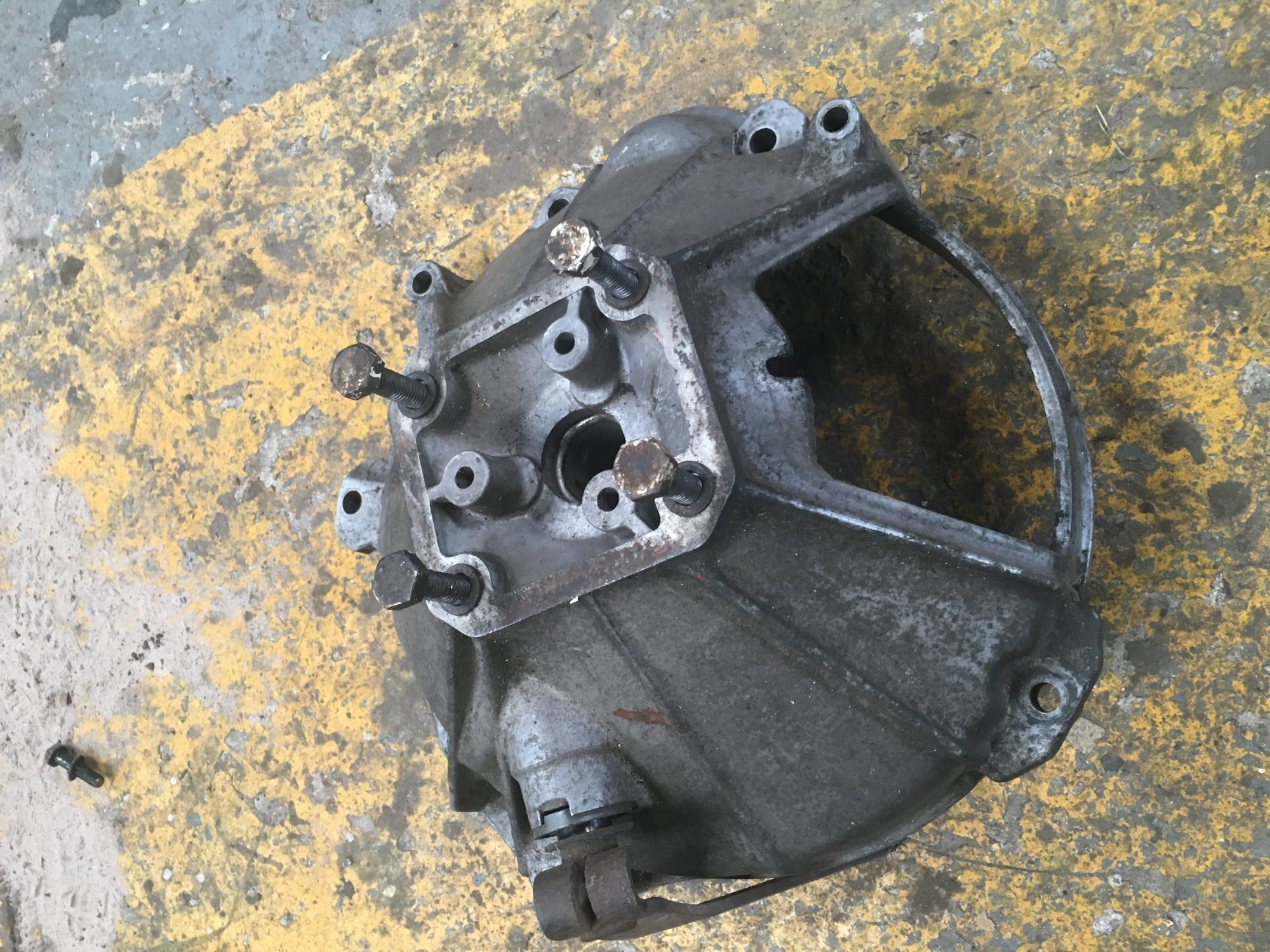 Porsche 924 (1975-1989) Clutch Housing Bell Housing 477 521 111 ((F14) - Porsche Spares UK Ltd