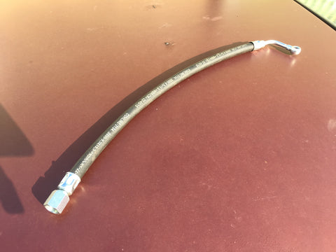 Porsche 924 turbo fuel line to metering head 478 209 055 right hand drive cars only. - Woolies Workshop - Porsche spares
