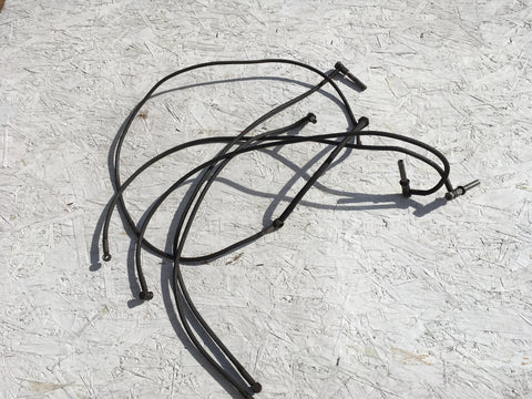 Porsche 924 fuel line set. Early 1976-78 type. 047133315. 047133319. 047133321 ((Ref green 2)) - Woolies Workshop - Porsche spares