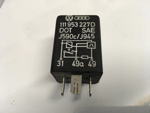 Porsche 944/924 flasher Relay 111953227D ((LB200)) - Porsche Spares UK Ltd