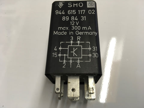 Porsche 944 Sunroof relay, 94461511702.  1986-88