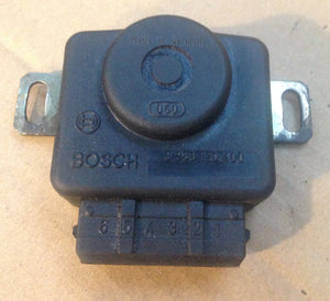 Porsche 944 turbo throttle position sensor switch 0 280 120 400 951.606.113.00 - Porsche Spares UK Ltd