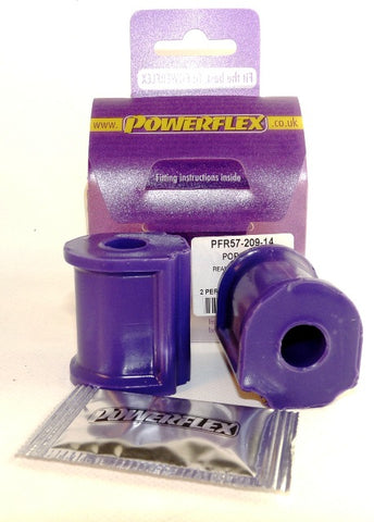 924 and S (all years), 944 (1982 - 1985) Rear Anti Roll Bar Bush 14mm 477 411 313 PFF57-209-14 - Woolies Workshop - Porsche spares