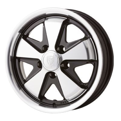 "Porsche fuch style alloy wheel. 15"" 6.0"" 5x130, 35mm off set."