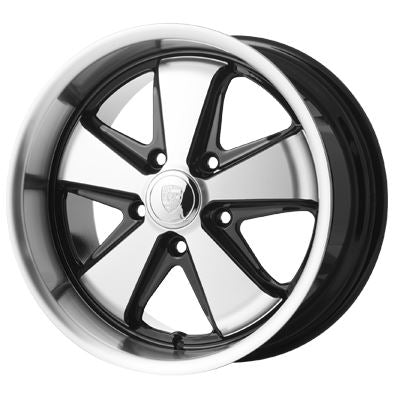 "Porsche fuch style alloy wheel. 17"" 9.0"" 5x130, 50mm off set."