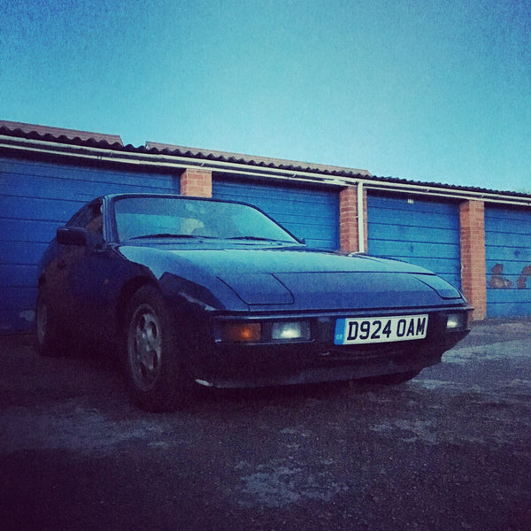Porsche 924S 2.5 Manual. 1987. Metallic Blue. D924 reg - Porsche Spares UK Ltd