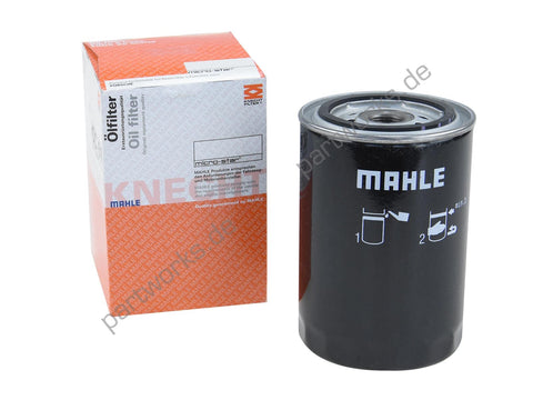 Porsche 911 F 65-71 / 914-6 Mahle oil filter for engine - Woolies Workshop - Porsche 924 944 spares