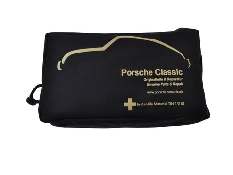 Original first aid bag for Porsche 911/944/928/986/996 first aid kit (partsw) - Woolies Workshop - Porsche spares