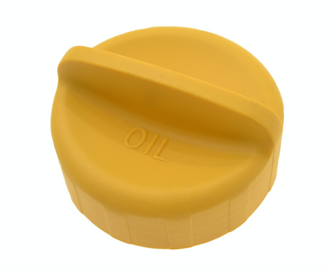 Porsche 924S / 944 / 968 / 928 / 964 / 911 oil filler cap. new. yellow. 944 107 191 02 - Woolies Workshop - Porsche 924 944 spares