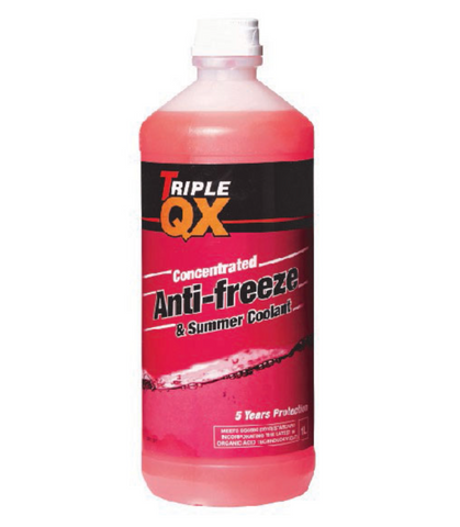 Porsche 924 944 pink 5 year anti freeze. 1ltr bottle. - Woolies Workshop - Porsche spares