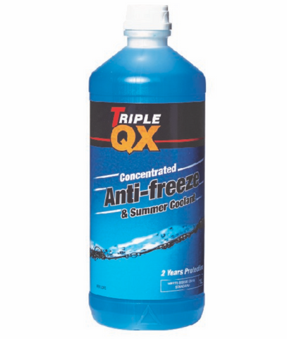 Porsche 924 944 Blue 2 year anti freeze. 1ltr bottle. - Woolies Workshop - Porsche 924 944 spares