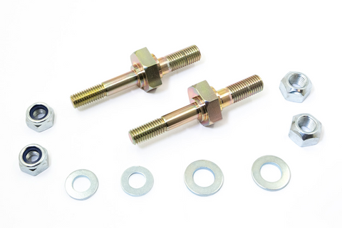 Porsche 924 944 968 rear drop link eccentric bolts (pair) (RECP) 477 511 515 - Woolies Workshop - Porsche spares