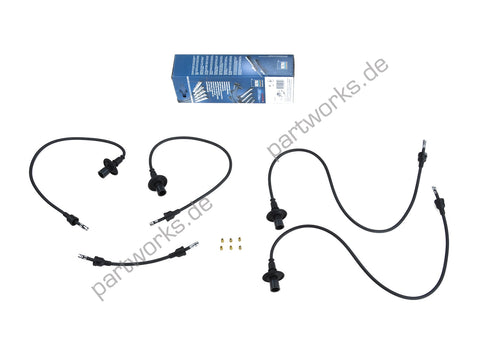 Porsche 912 / 914-4 / 356 A/B/C Ignition leads cable set - Woolies Workshop - Porsche 924 944 spares