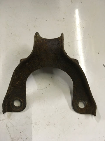 Porsche 924 2.0 exhaust hanger bracket. Used.((lb257)) - Woolies Workshop - Porsche 924 944 spares
