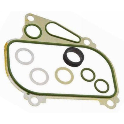 Porsche 924S 944 oil cooler seal kit (green 33) - Woolies Workshop - Porsche 924 944 spares
