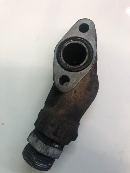 Porsche 924 turbo oil pipe bracket coupling union 931 107 111 2R ((CB32c)) - Porsche Spares UK Ltd
