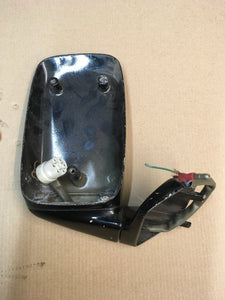 Porsche 924 944 right hand mirror body black 927731023 ((F12)) - Woolies Workshop - Porsche 924 944 spares