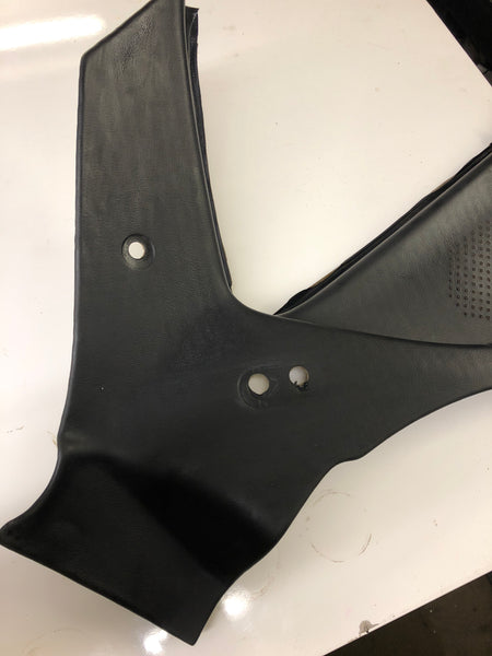 Porsche 924  rear ¼ interior trim panel 477 867 422 Black Early left - Woolies Workshop - Porsche 924 944 spares