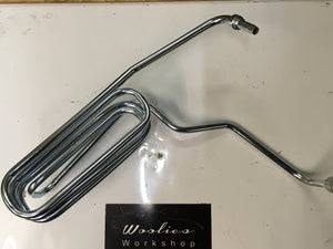 Porsche 944 / 924 S pas power steering return line / cooler 944 347 459 ((B18)) - Woolies Workshop - Porsche 924 944 spares