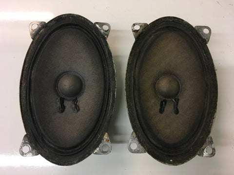 Porsche 924/944 blaupunkt pair of speakers ((CB33b))