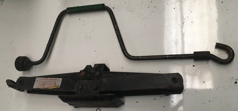 Porsche 924/944/ 944 turbo steel jack & handle . (No 12) ((B5)) - Woolies Workshop - Porsche 924 944 spares