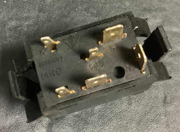 Porsche 924/944 rear fog light switch 944 613 110 00. (LB5) - Porsche Spares UK Ltd