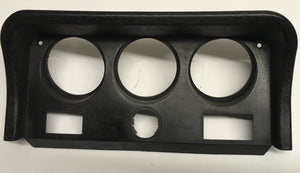 Porsche 924/944 console clock/gauge frame in Black ((Ref green5)) - Woolies Workshop - Porsche 924 944 spares