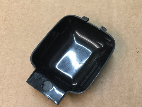Porsche 924 944 (square dash) interior door handle finger plate 111 837 247 (black) ((CB27c)) - Woolies Workshop - Porsche 924 944 spares