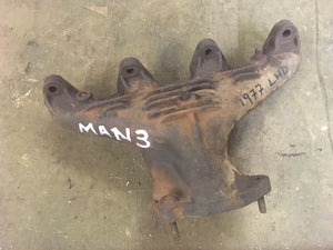 Porsche 924 2.0 Exhaust manifold LHD only 047129587D ((E5)) ((MAN3)) - Woolies Workshop - Porsche 924 944 spares