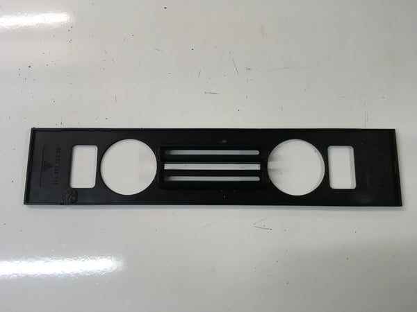 porsche 944 86 onwards heater control trim 944 653 203  ((B2-3)) - Woolies Workshop - Porsche 924 944 spares