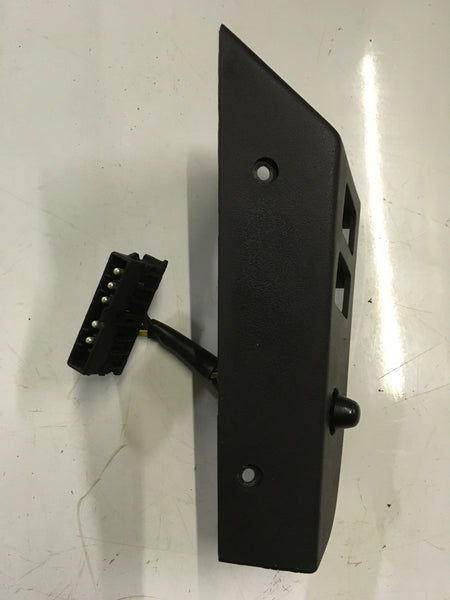 Porsche 944 window switch trim panel 1986- 94555527200 black. ((Ref LB21a)) - Woolies Workshop - Porsche 924 944 spares