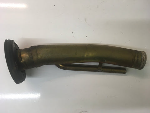 Porsche 924/944 fuel filler pipe off a 1978 vehicle . ((Green 16)) - Woolies Workshop - Porsche 924 944 spares
