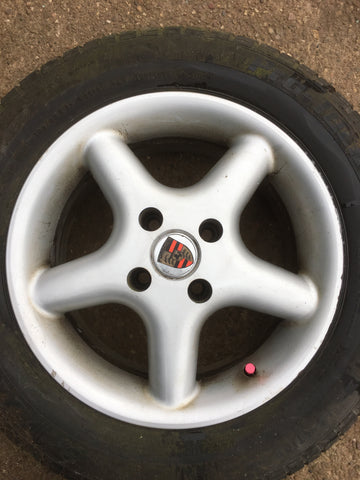 Porsche 924 5 spoke alloy wheel. - Woolies Workshop - Porsche spares