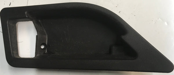 Porsche 928 Black Interior door handle rear surround. 92853754502 - Porsche Spares UK Ltd