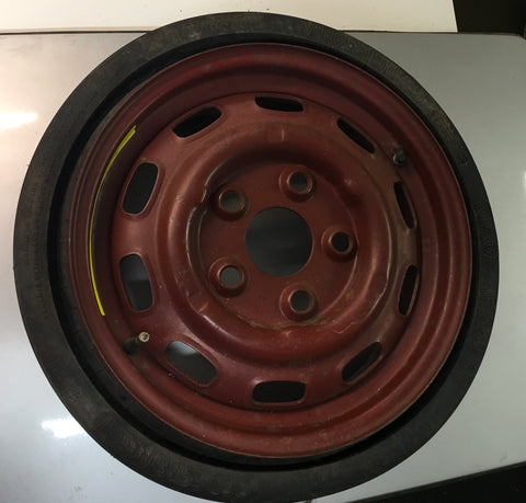 Porsche 944 space saver spare wheel 94436204000 ((F13))