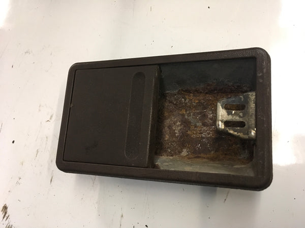 Porsche 924/944 BROWN ash tray.  ((Green 28)) - Woolies Workshop - Porsche 924 944 spares