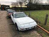 Porsche 924 2.0 in white. 1980 5 speed. - Woolies Workshop - Porsche spares