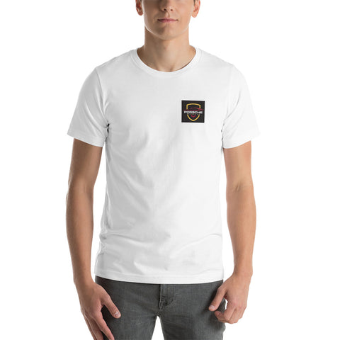 Porsche Spares UK Short-Sleeve Unisex T-Shirt - Porsche Spares UK Ltd